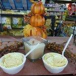 Byler's Pumpkin Ice Cream