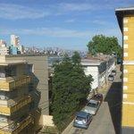 Vista al mar y barrio del Cerro Castillo
