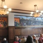 Mural in the dining room
