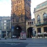 La torre de la polvora por la mañana