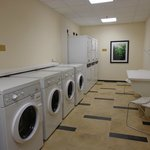 Do Your Laundry In Our Complimentary Laundry Room