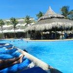 piscina  y bar
