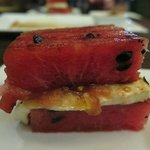 Grilled watermelon appetizer WHAT??!!