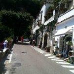 streets in Positano