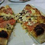 Greek Pizza - delicious!