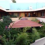 Courtyard at Stanford Terrace Inn
