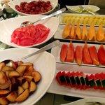 Fresh fruit selection