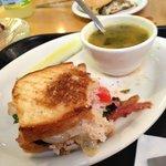 Panini and Wedding Soup