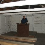 Inside the old slave church