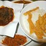 Sri Lankan Curry and Rice