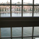 river view from room