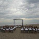 Área para la boda