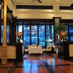 The fabulous club lounge