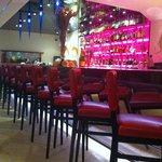 Bar de l'hôtel, le Barego