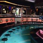 swim up bar at ANGELES BEACH CAFE