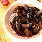 The best mussles ever! Buy a bag if you can!