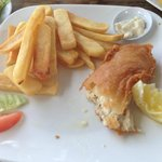 my RM12 fish and chips! YUM