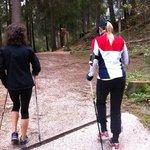 Nordic Walkinc con Irene