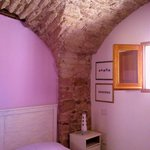 interno camera rosa