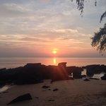 Classic mango bay sunset, bliss!!