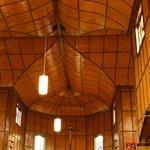 Die Decke der Kirche