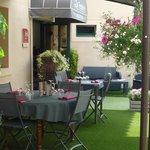 terrasse exterieure restaurant