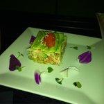 Avocado-crab salad