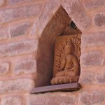 Beautiful detail on the red brick