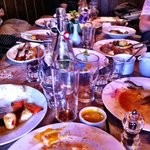 Aftermath of a great Sunday lunch