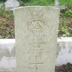 Commonwealth War Grave Commission Tomb for MV Dumana RAF Seaplane Tender