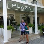 Hotel Plaza entrance