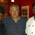 Chef Joel, me, Chef Antonio