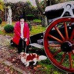 im Burggarten mit Humphrey