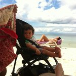 Beach with Stroller-- VERY EASY