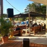 Local Bar on beach