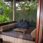 deck esterno con prendisole, Anchor bay suites