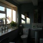 We love the well-stocked bathroom!