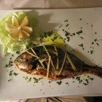 Whole grilled Sea Bream