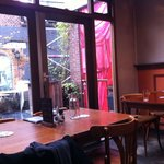 Back and outside seating