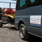 Wye Valley Canoes Van