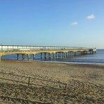 Boscombe pier. Short walk from hotel.