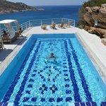 piscina superiore