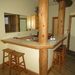 Mountainview suite kitchenette