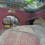 Rocks with inscriptions