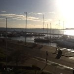 Sunny day over Poole Quay....room with a view