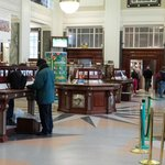 inside the post office