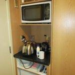 Cramped kitchen area
