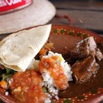 Authentic Mexican meal during Outback and Camel Safari excursion