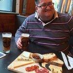 Wheatbeer & Cheese board