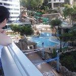 balcony pool side
